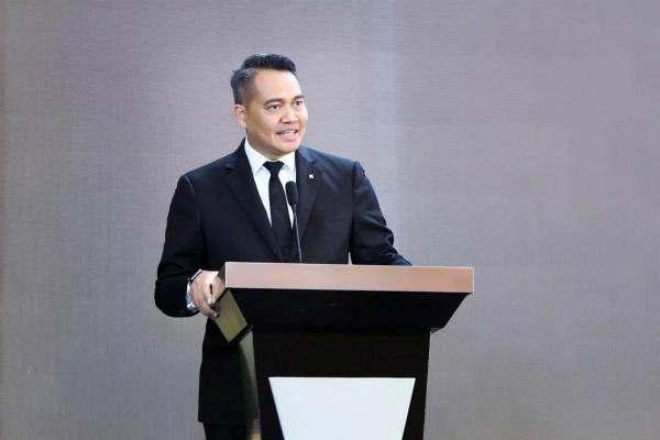 泰安富力万达嘉华酒店总经理马财进先生进行了热情洋溢的致辞_meitu_2.jpg