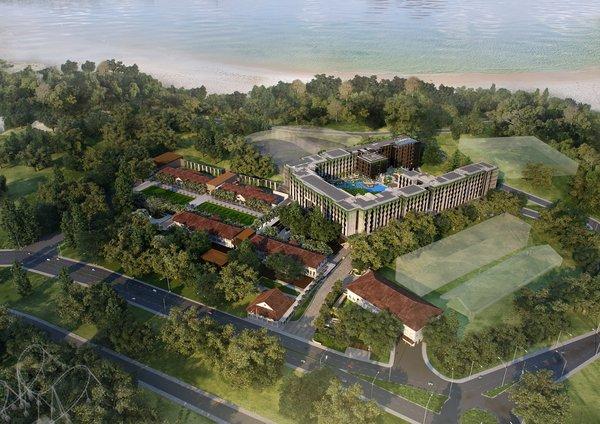 远东酒店的新度假酒店地处圣淘沙炮兵大道,让宾客能够非常方便地前往新加坡最知名的场所和景点