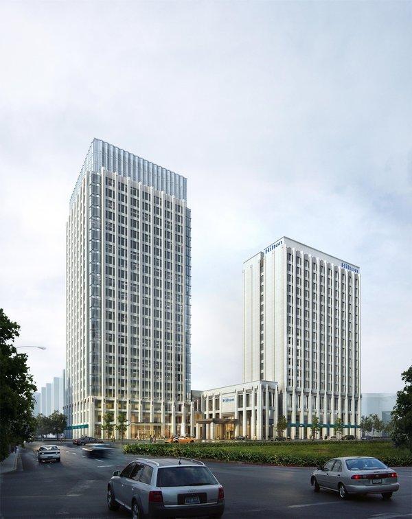 成都协信中心希尔顿酒店盛大开业,希尔顿加强在蓉布局