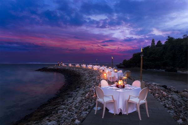 """巴厘岛穆丽雅酒店""""La La Lune""""月圆之夜海滨晚餐La La Lune_meitu_1.jpg"""