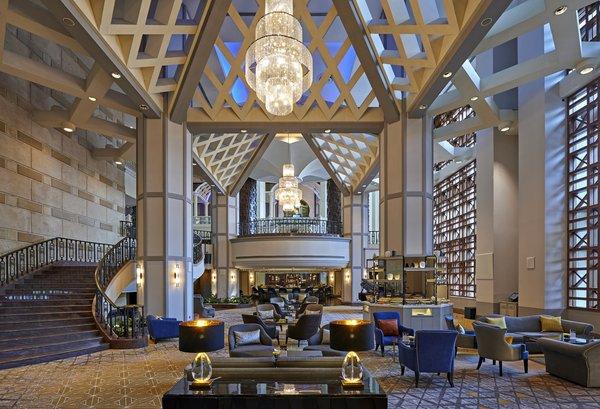 吉隆坡喜来登帝国酒店大堂