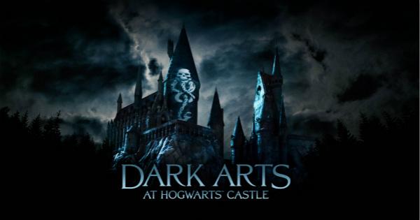 """1.""""霍格沃茨城堡黑魔法声光秀""""宣传图 Dark Arts - WWoHP at Universal Studios_meitu_1.jpg"""