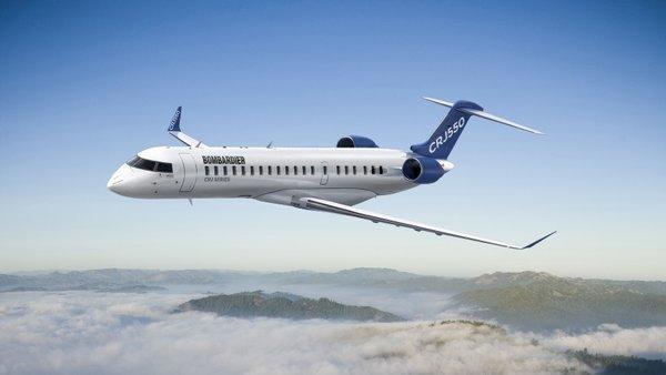 龐巴迪推出新款CRJ550客機