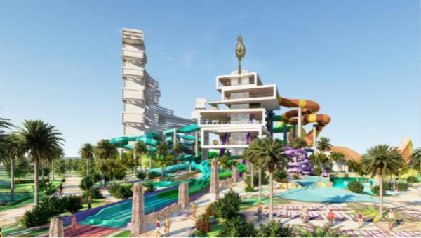迪拜棕榈岛亚特兰蒂斯度假酒店高达34米的巨型三叉戟塔与12个惊险刺激的水滑道将于2020年夏季落成 2_meitu_2.jpg