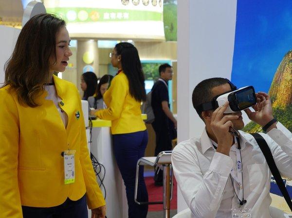 用VR眼镜体验妙不可言的巴西风光