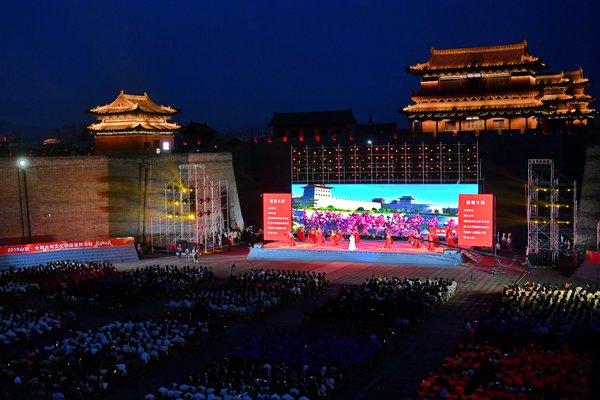 位于中国北部的山西省大同市日前启动其城市经典文化活动 -- 大同云冈文化旅游系列活动