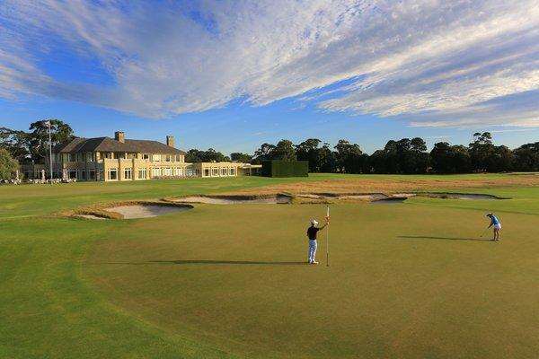 我本胜地 挥杆墨尔本 墨尔本皇家高尔夫俱乐部球场
