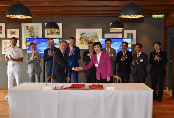 图片1:歌诗达邮轮与海南省旅游和文化广电体育厅航线合作签约仪式现场_meitu_2.jpg