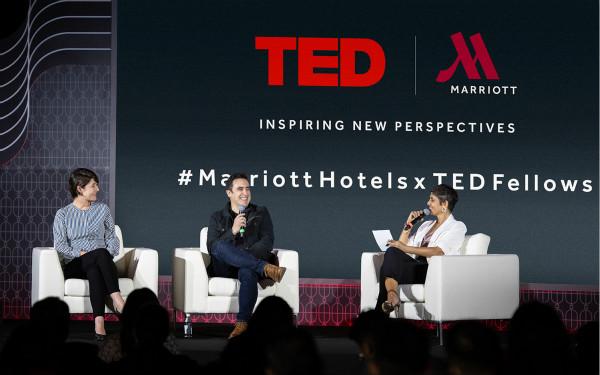 从左至右:TED国际演讲嘉宾Hiromi Ozaki、Andrew Pelling 与本场主题讨论主持人Anita Kapoor_meitu_1.jpg