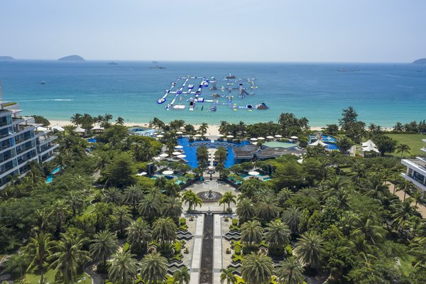 三亚美高梅度假酒店海上城堡乐园
