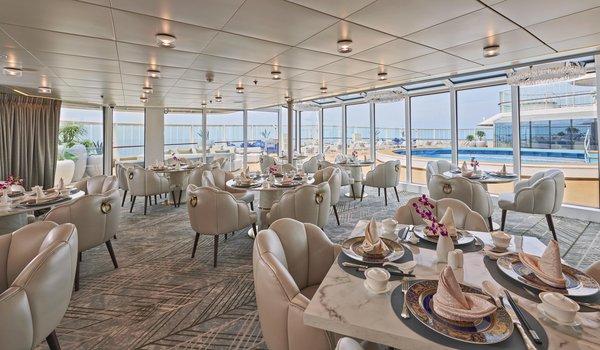探索夢號皇宮餐廳提供亞洲及歐洲美饌