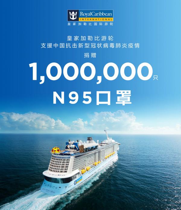 皇家加勒比國際游輪向中國捐贈100萬只N95口罩 馳援中國守望互助_meitu_1.jpg