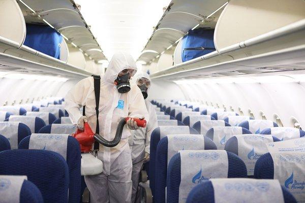 """构建陆空防疫""""安全网"""" 曼谷航空再提升机舱机场消毒程序标准"""