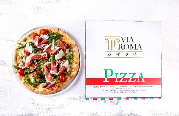 花样罗马餐厅推出手工石炉披萨外卖