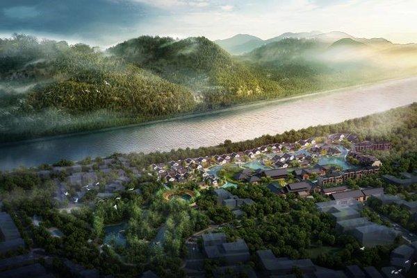 世茂御榕-武夷度假酒店 -- 俯瞰图
