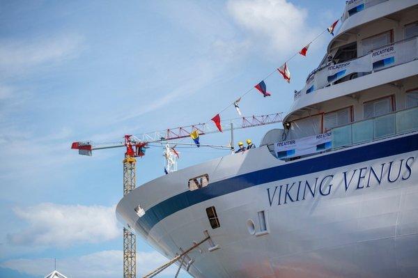 維京金星號正式出塢下水