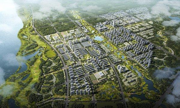 佳兆業空港科技城(規劃效果圖)