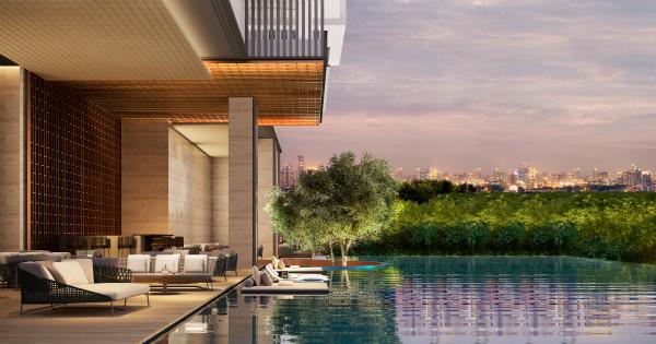 位于曼谷奈乐安缦9楼的无边际泳池,眺望可见奈乐园内茂密的树冠_meitu_1.jpg