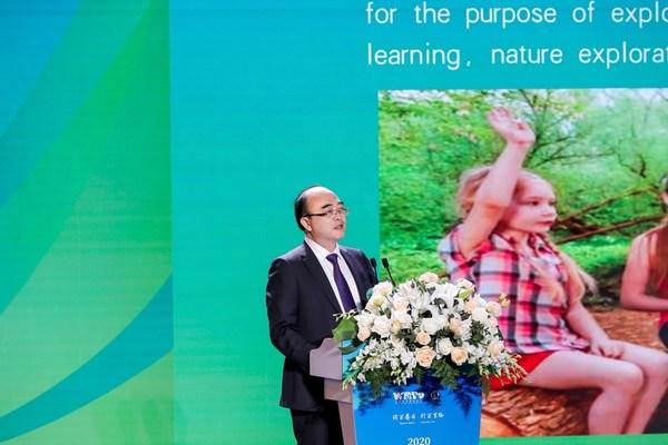 世界研学旅游组织执行主席杨振之教授发布乐山宣言