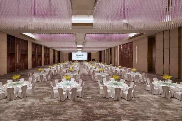 北京日出东方凯宾斯基酒店大宴会厅