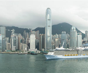 亚洲最大游轮皇家加勒比海洋赞礼号开启华南母港航季