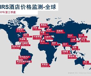 HRS发布2017年第三季度酒店价格监测数据: 中国酒店价格下行,全球范围内上涨趋势明显