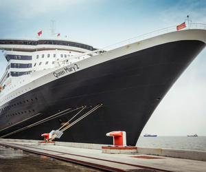 冠达邮轮旗舰玛丽皇后2号盛大开启首个上海往返航次