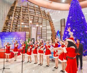 三亚海棠湾天房洲际度假酒店圣诞亮灯仪式——蓝色童话圣诞夜