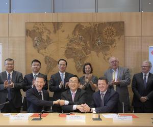 法航荷航集团与中国东方航空签署协议拓展联营合作