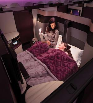 卡塔尔航空Qsuite空中私人套房将于上海航线正式亮相