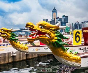 世界级龙舟赛激战维港  香港端午嘉年华盛事来袭