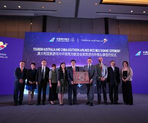 澳大利亚旅游局与中国南方航空签署合作协议 共赢赴澳商旅市场