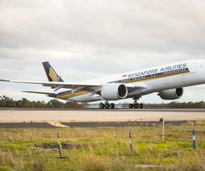 新加坡航空接收全球首架空客A350-900ULR客机
