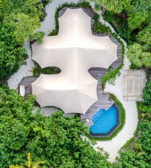 马尔代夫斯茹芬富士岛费尔蒙酒店推出游猎风情丛林帐篷别墅