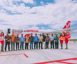 亚洲航空新增印尼龙目岛航空枢纽