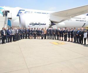 埃及航空迎來第二架波音787夢想客機