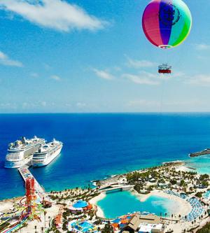 皇家加勒比私屬島嶼-可可島完美假日正式對外開放