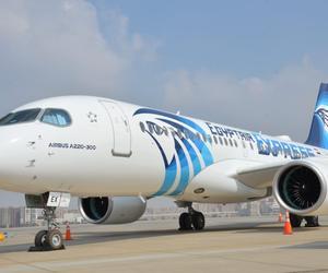 埃及航空接收首架空客A220-300飛機 成為中東及北非地區首家該機型運營商