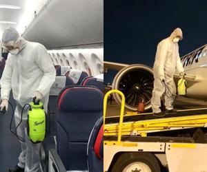 埃及航空加強客艙和機場區域清潔消毒 做好新冠肺炎疫情防控