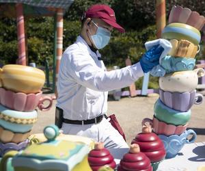 上海迪士尼樂園將于5月11日起實行限流重新開放