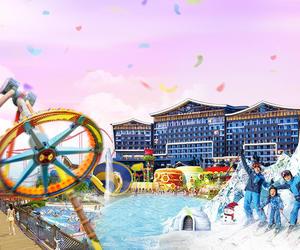 來廣州融創堇山酒店,體驗零下5℃的夏天