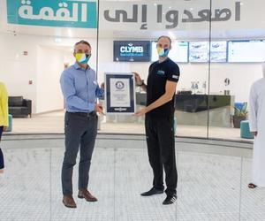 CLYMB Abu Dhabi打破兩項吉尼斯世界紀錄