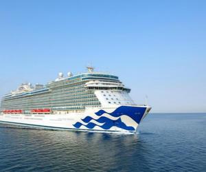公主邮轮再添新船——奇缘公主号正式加入公主邮轮船队