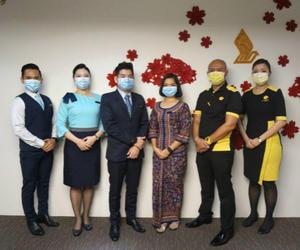 新航集团首批机组全员接种新冠疫苗的航班现已运营