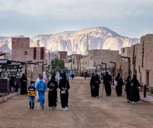 沙特埃尔奥拉古城正式开放迎客