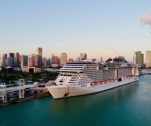 MSC地中海邮轮正式在美国复航,MSC地中海传奇号重返加勒比海